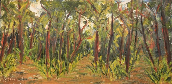 A Fork in the Trail 18x36
